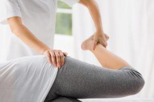 Anwendung einer Bobath Therapie