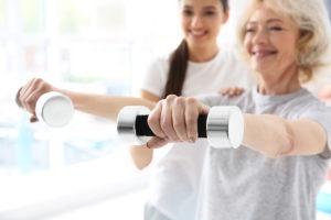 Physiotherapie-Übungen bei Valeovia in Bremen